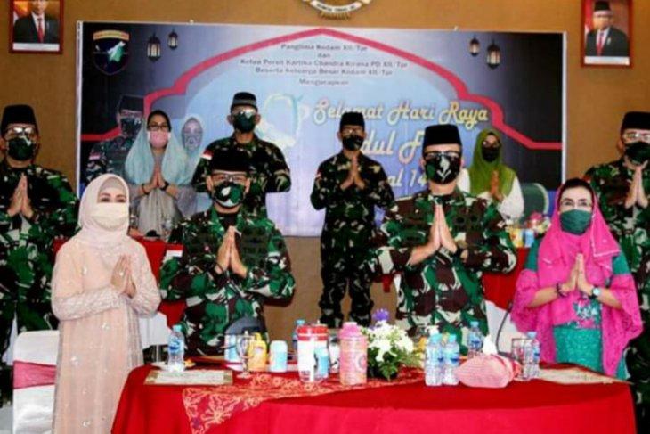 Kodam XII/Tpr gelar halal bi halal secara virtual di masa COVID-19