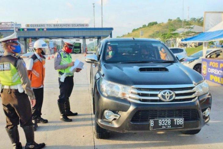 Sebanyak 310 ribu kendaraan lintasi Tol Trans Sumatera