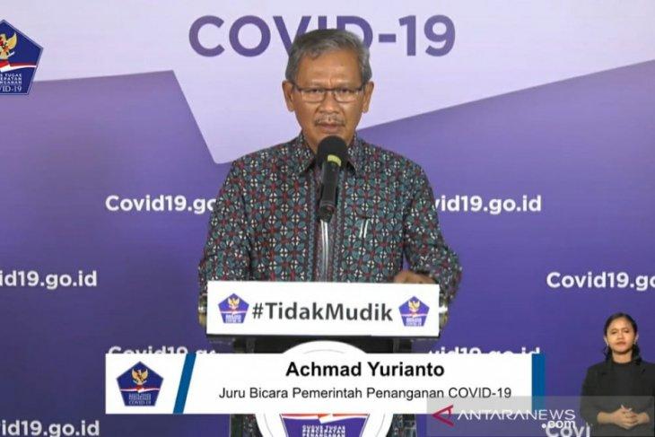 Jubir Pemerintah: Pasien COVID-19 sembuh bertambah 235 menjadi 5.877 orang