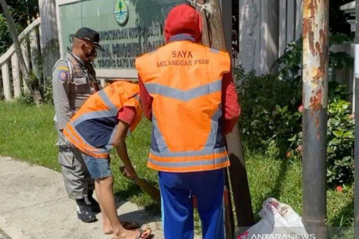 Pemkot Bogor telah menindak 1.502 pelanggar protokol kesehatan selama PSBB