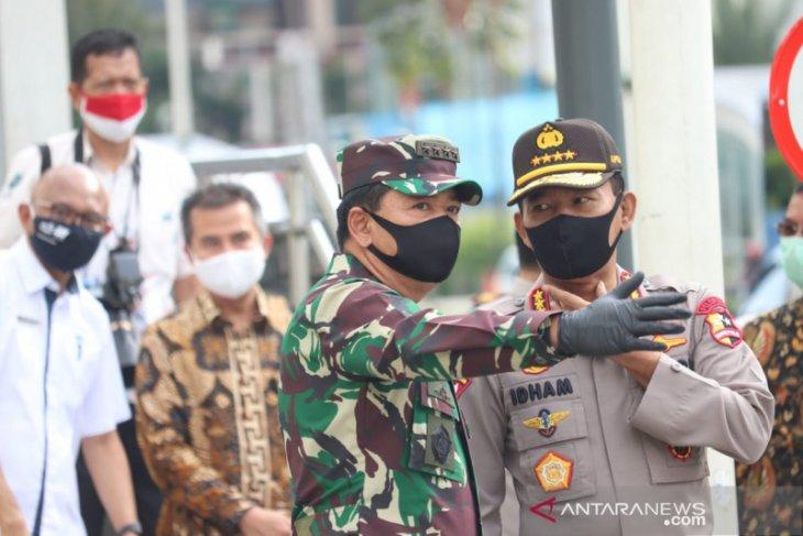 Normal baru, TNI-Polri Babel belum terima arahan mendisplinkan masyarakat