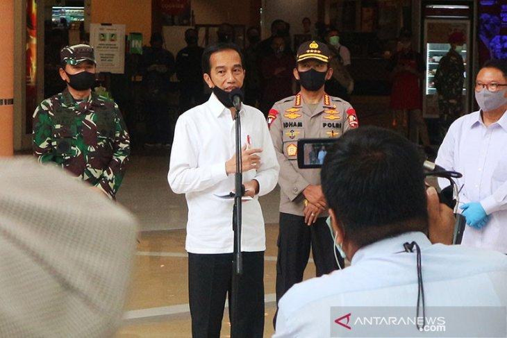 Presiden Jokowi: Kita ingin TNI-Polri ada di setiap keramaian