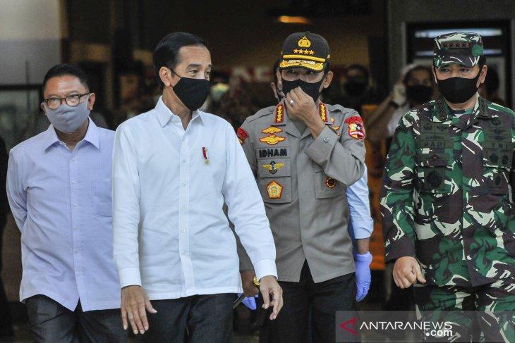 Presiden Jokowi perintahkan tatanan kenormalan baru segera disosialisasikan