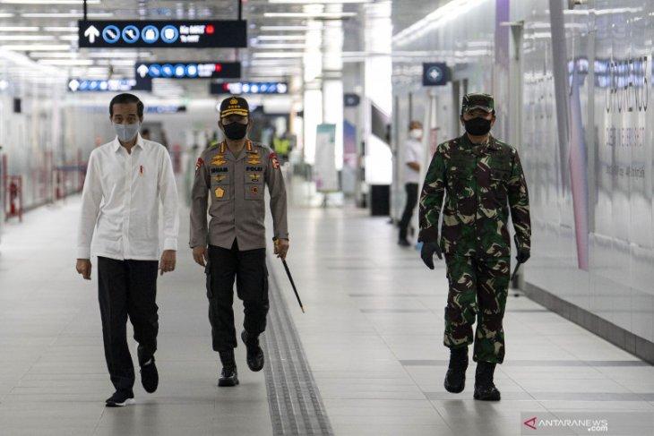 Jokowi: Keterlibatan Polri tangani COVID-19 sangat dibutuhkan