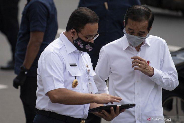 Presiden Jokowi minta daerah perhitungkan penetapan fase normal baru