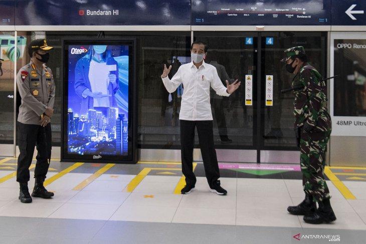 Pasukan TNI-Polri dorong pelaksanaan 'new normal' di tempat umum
