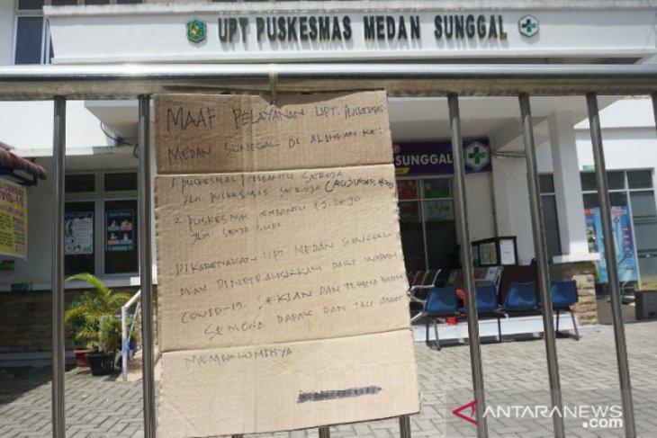 Aduh.. Sudah tiga puskesmas di Medan ditutup karena COVID-19