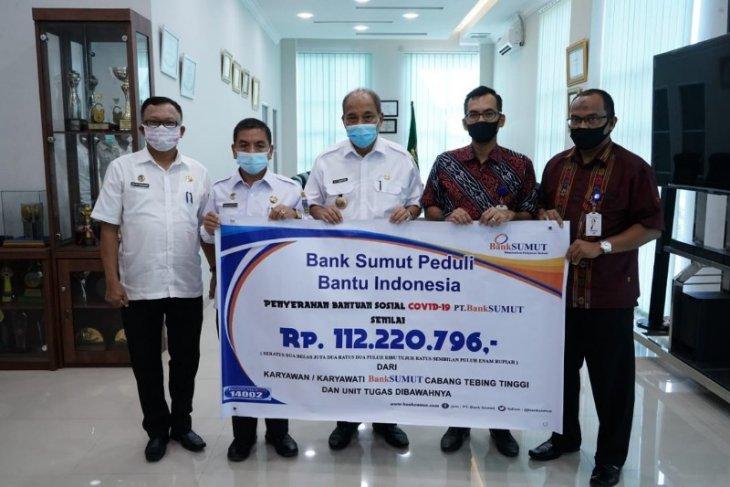 Pemkot Tebing Tinggi terima bantuan dari Bank Sumut