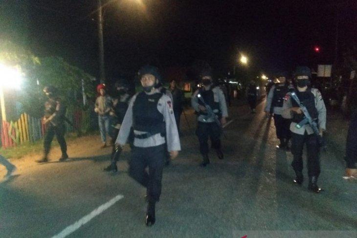 Pascabentrok di Tapanuli Selatan, Brimob Polda Sumut lakukan pengamanan