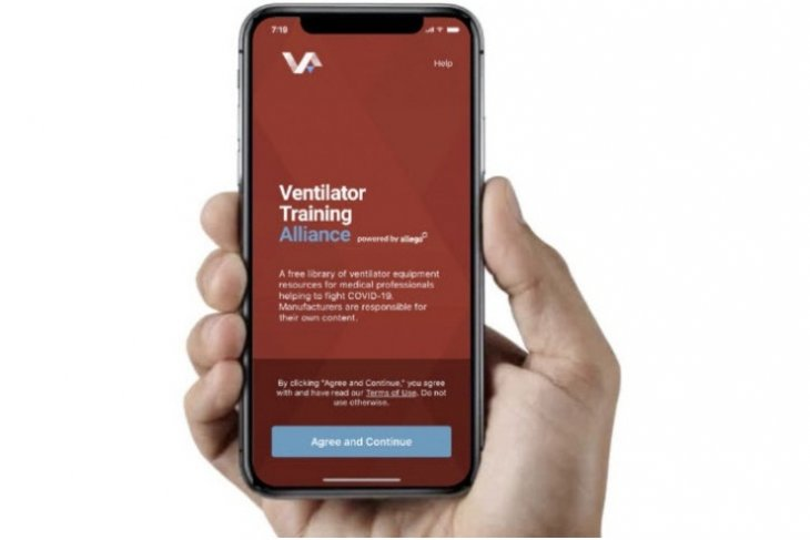 Smiths Medical announces Ventilator Training Alliance app partnership