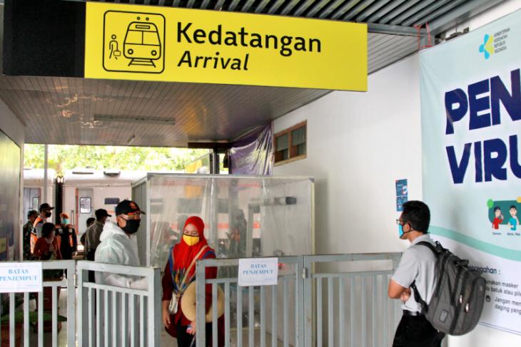 Daop 7: Jumlah penumpang kereta api turun drastis saat Lebaran