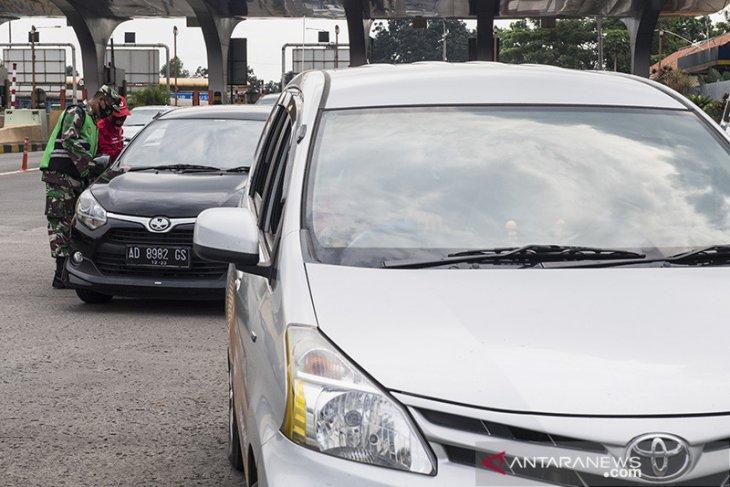 Penyekatan arus balik di Kota Bandung