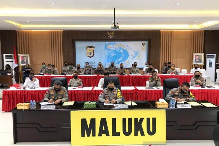 Kapolda Empat daerah di Maluku sasaran disiplin protokol kesehatan