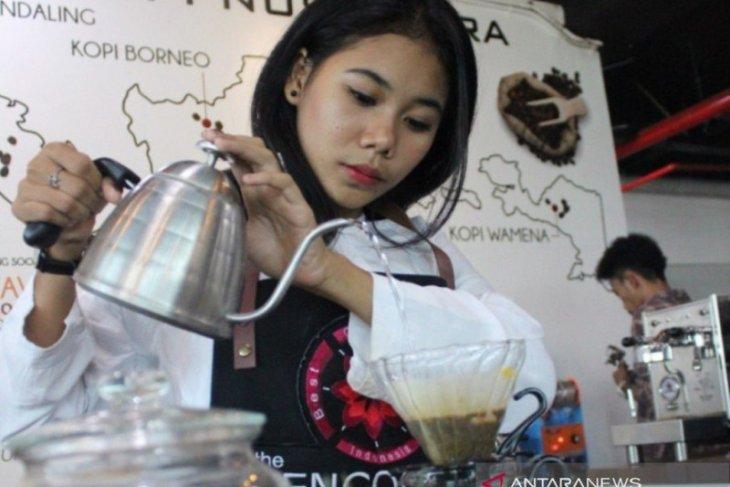 Gelombang 4 prakerja dioptimalkan dengan pelatihan 10.000 Barista Merdeka Bencoolen Coffee