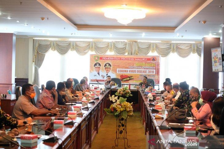 Kapolda Maluku  konsep protokol kesehatan harus dibuat