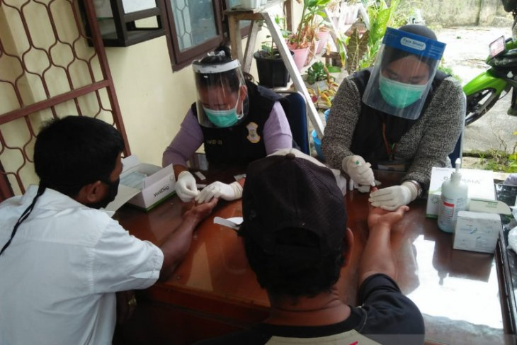 Cegah penyebaran COVID-19, Pemkot Pangkalpinang giatkan rapid test massal