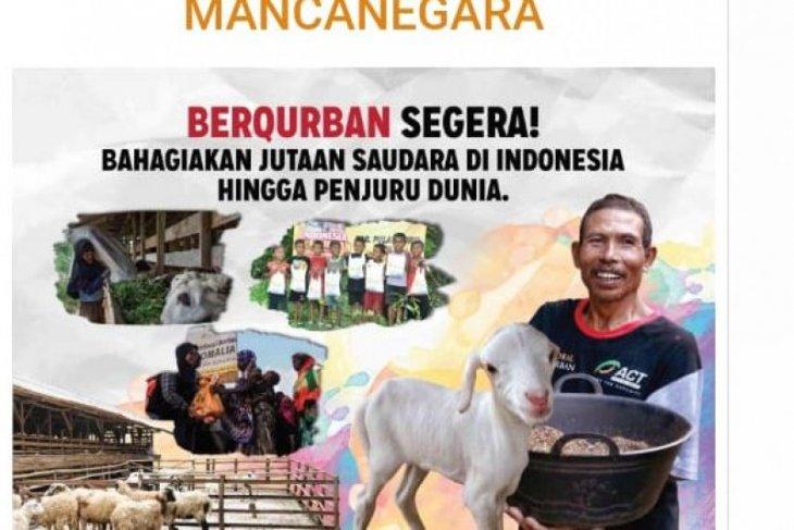 Global Qurban-ACT siap membagikan daging kurban