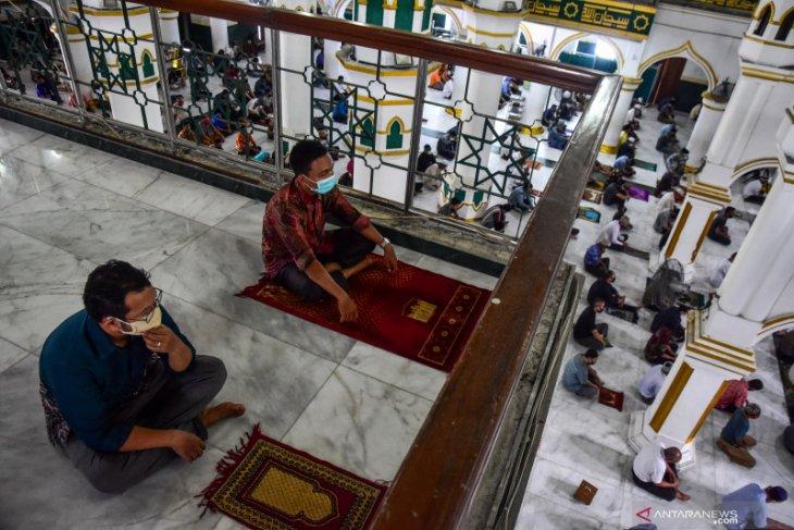 1.380 masjid dan mushala di Pekanbaru segera dibuka