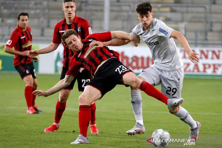 Liga Jerman, gol tunggal Havertz antar Leverkusen naik ke posisi ketiga