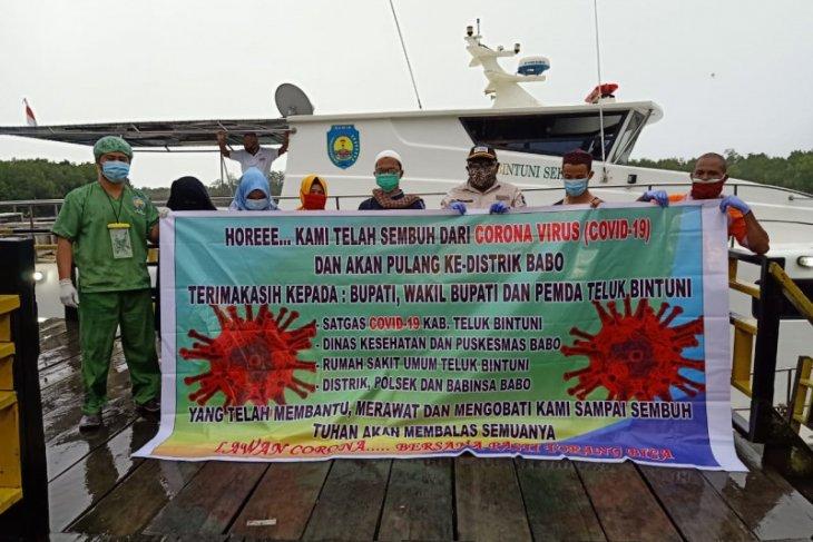 Pasien COVID-19 sembuh di Teluk Bintuni kini 27 orang