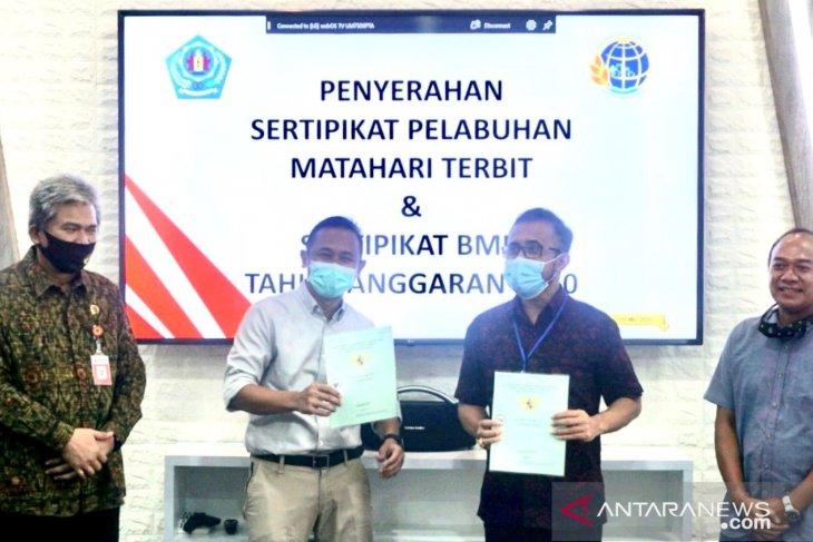 Pemkot Denpasar terima sertifikat tanah Pelabuhan