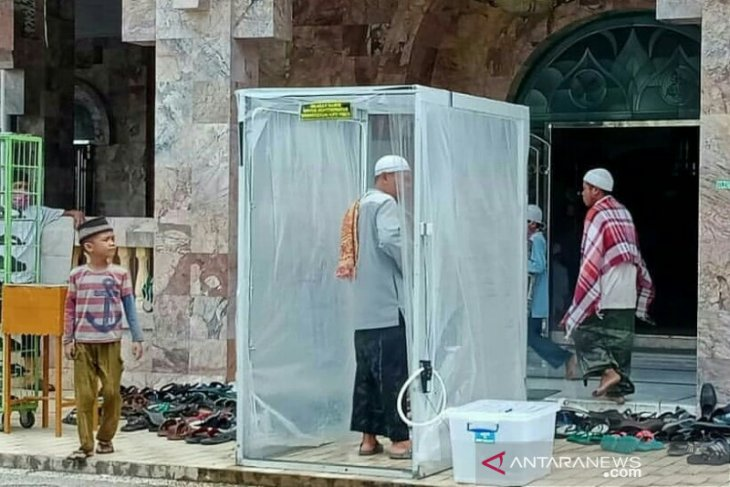 HSU's At-Taqwa Grand Mosque re-opened for Friday Prayer