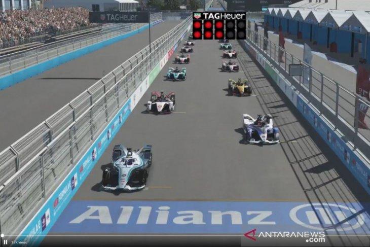 Vandoorne rebut kemenangan seri ke-6 sekaligus puncaki klasemen Race at Home