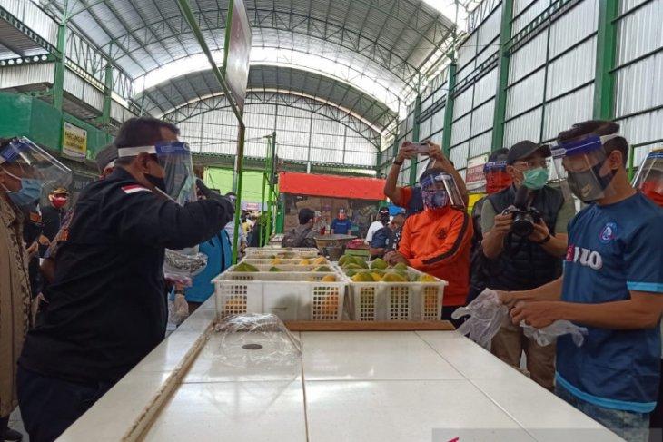 Pasar Oro Oro Dowo Malang jadi percontohan menuju normal baru