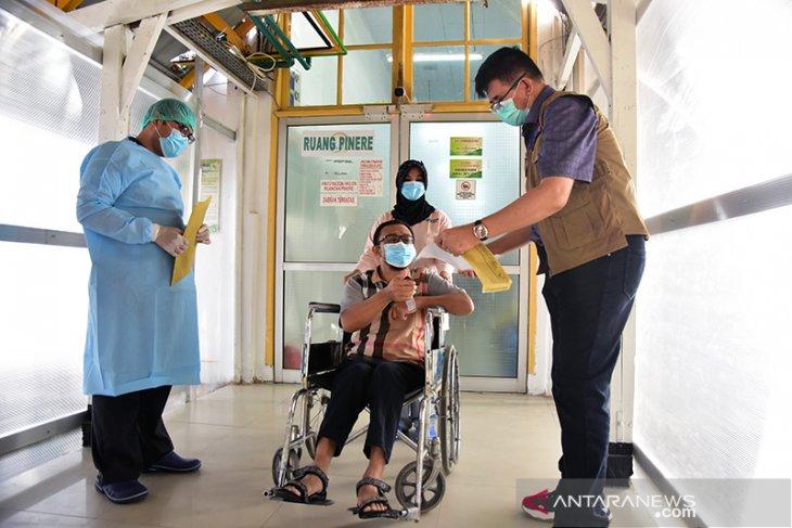 Pasien COVID-19 terakhir di RSUD Arifin Achmad Riau dinyatakan sembuh, begini penjelasannya