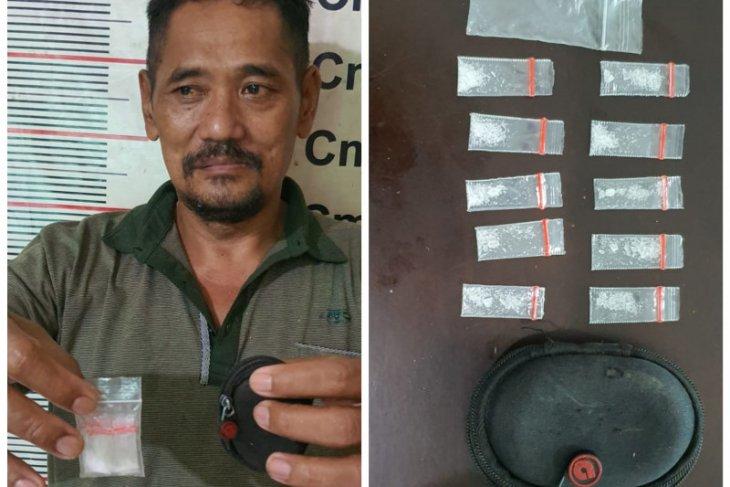 Pak Min pengedar sabu-sabu Wampu ditangkap Polsek Stabat Langkat