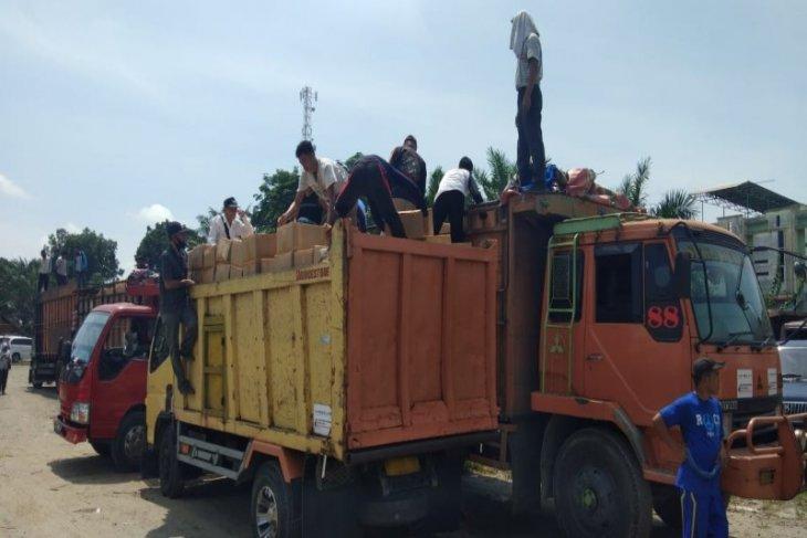 Pemprov Sumut salurkan bansos buat Langkat 23.629 paket
