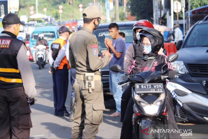 Atasi kepadatan kendaraan di Jalur Puncak, Polisi minta bantuan Pemkab Bogor