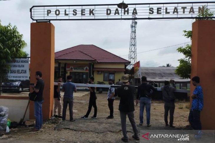 Polisi : Identitas pelaku penyerangan di Polsek Daha Selatan warga lokal