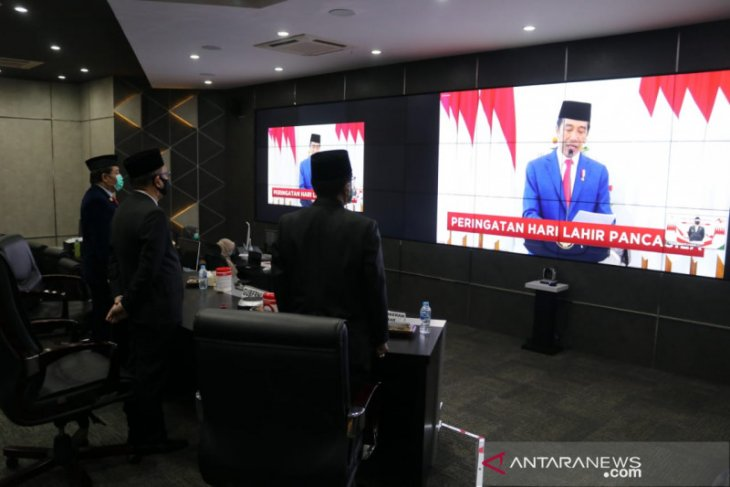 Gubernur Kalbar ajak masyarakat tanamkan nilai Pancasila hadapi Pandemi