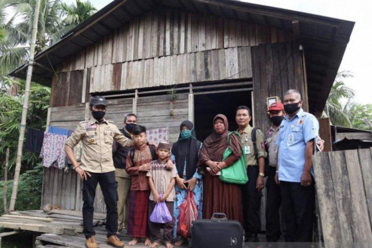 Dinas Sosial Kaltim fasilitasi pendidikan dan tempat tinggal dua anak yatim