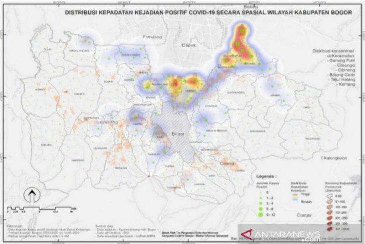 Ada 23 desa berisiko tinggi dan jadi episenter penularan corona di Bogor