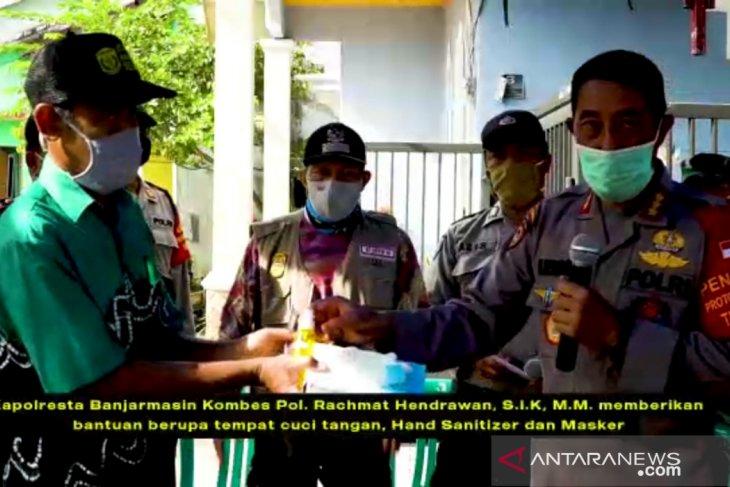 Polresta Banjarmasin bangun Kampung Tangguh Bebas COVID-19