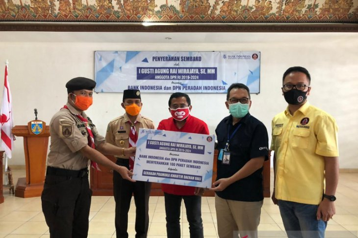 Gerakan Pramuka Bali buka pendaftaran daring untuk penerima bahan pokok