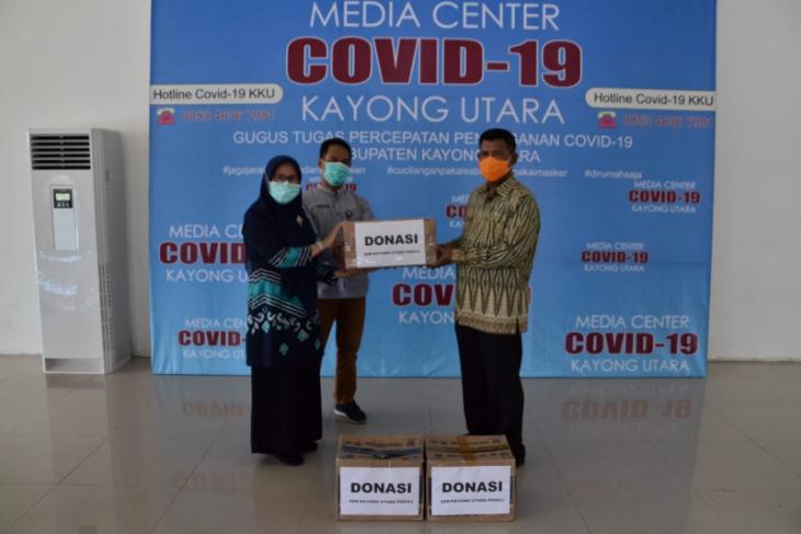 Bupati Citra terima bantuan untuk penanganan COVID-19 dari ASN