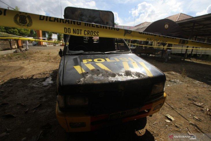 Jenazah pelaku penyerangan Polsek Daha Selatan telah dimakamkan