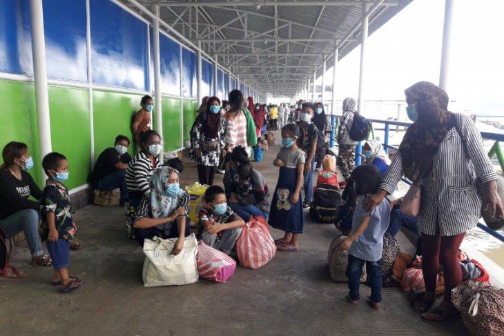 TKI di Sabah dideportasi ke Nunukan di tengah pandemi COVID-19