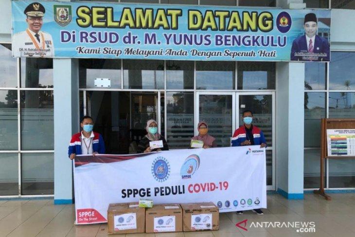 Serikat pekerja PGE Bukit Daun salurkan bantuan APD