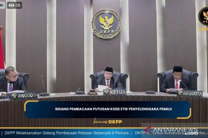 DKPP beri sanksi peringatan kepada 24 penyelenggara pemilu