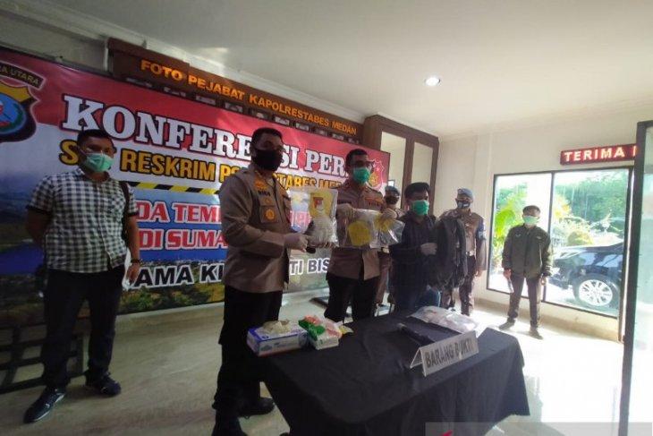 Polisi tembak mati pengedar sabu di Medan