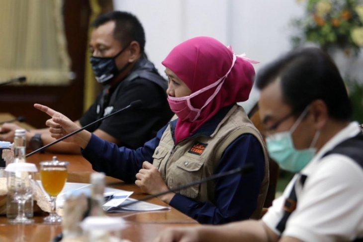 Tambahan kasus COVID-19 terbanyak di Jatim dari Surabaya dan Probolinggo