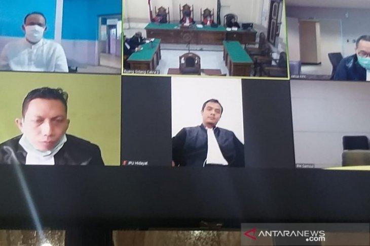 Kasubbag Protokoler Pemkot Medan divonis 4 tahun penjara