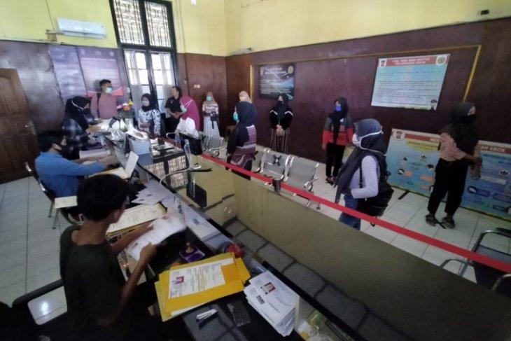 Jelang kenormalan baru, pemohon SKCK di Polres Serang Kota meningkat