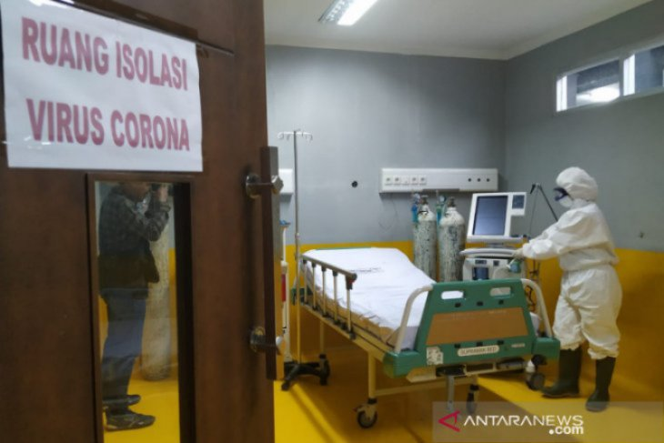 Hendak diberi makan, 4 tahanan positif COVID-19 kabur dari kamar perawatan