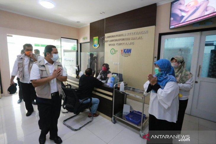 Labkesda Kota Tangerang sediakan dua alat pemeriksaan COVID-19