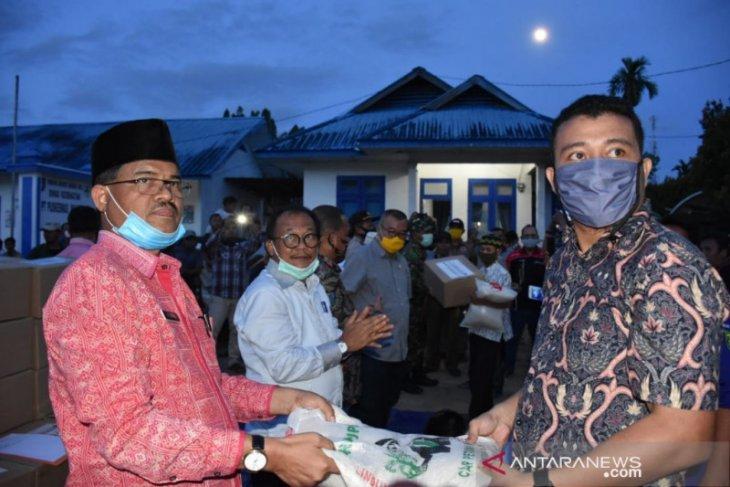 Bansos Sembako Pemprov Sumut di Madina mulai disalurkan